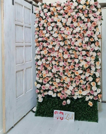 deciji cvetni zid